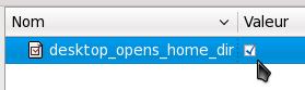 gconf editor option